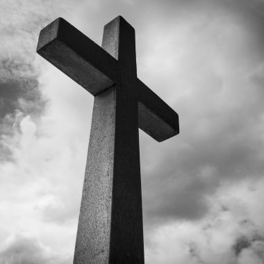 black-and-white-cemetery-christ-208315